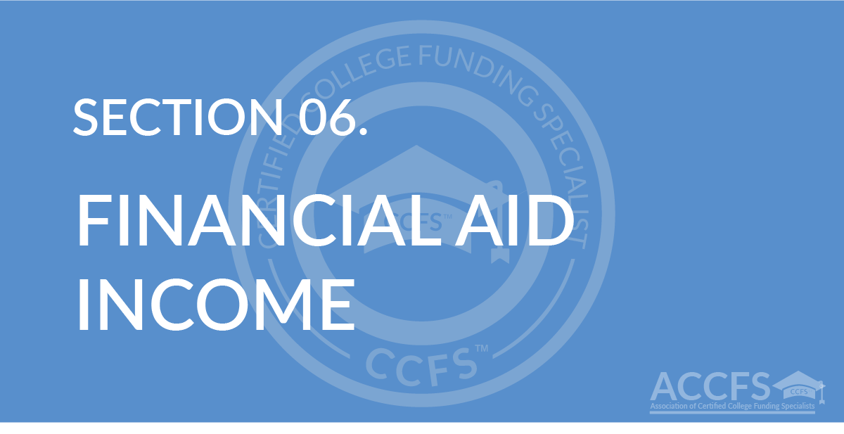 Financial Aid Income