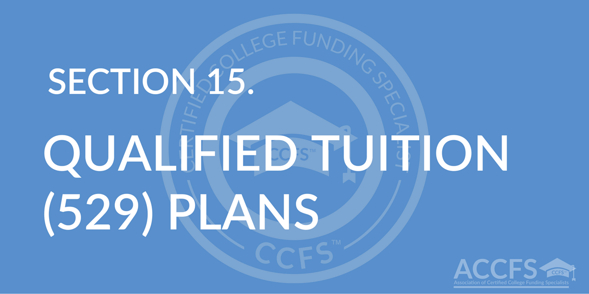 Qualified Tuition (529) Plans