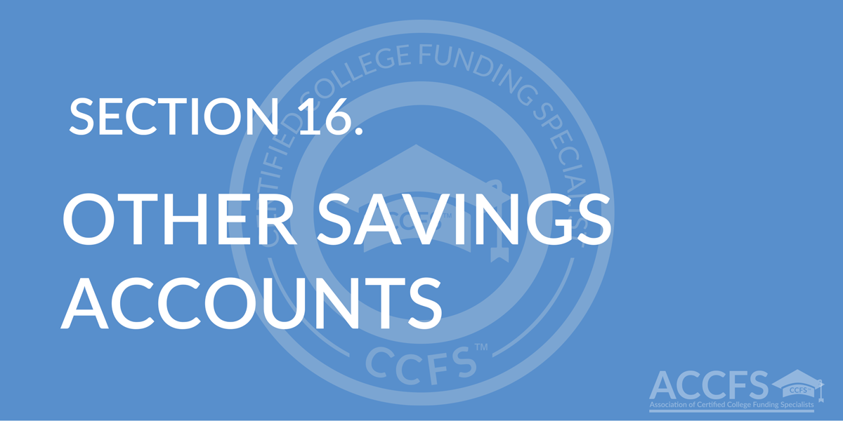 Other Savings Accounts