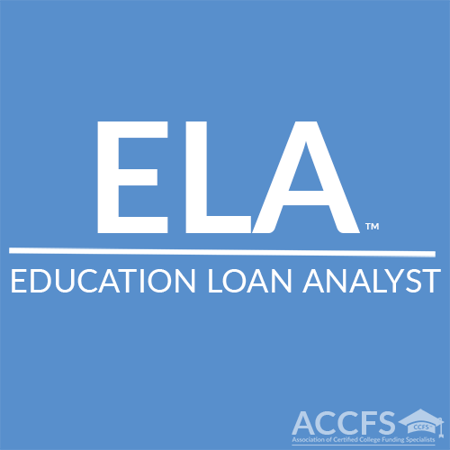 ELA™ - Education Loan Analyst