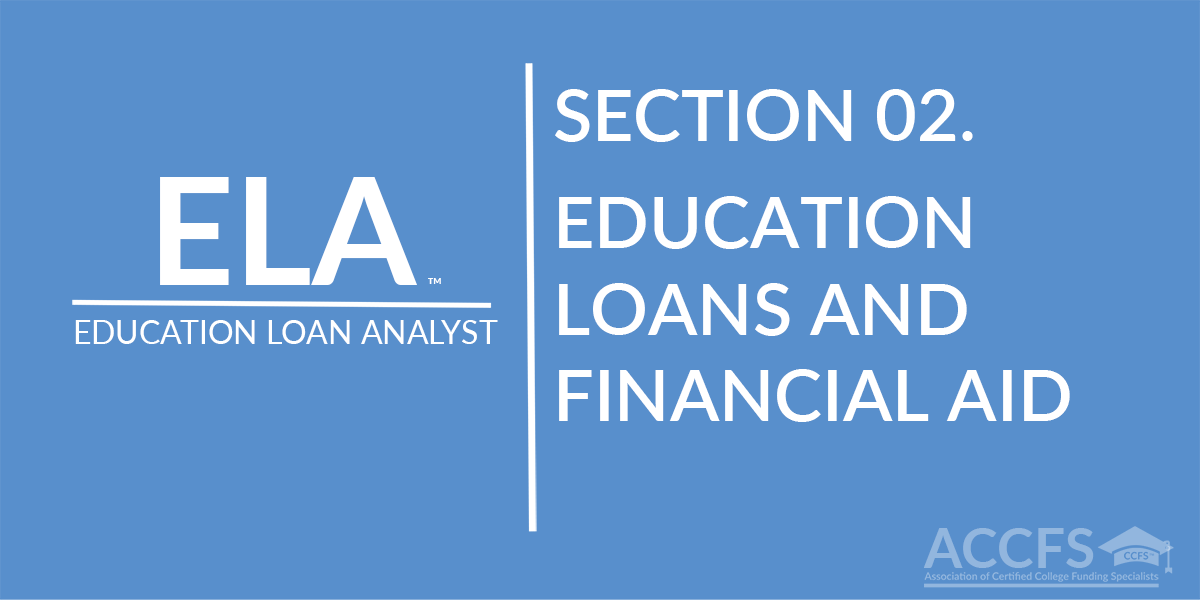 Education Loans and Financial Aid