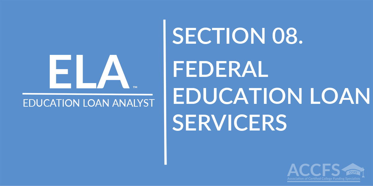 Federal Education Loan Servicers