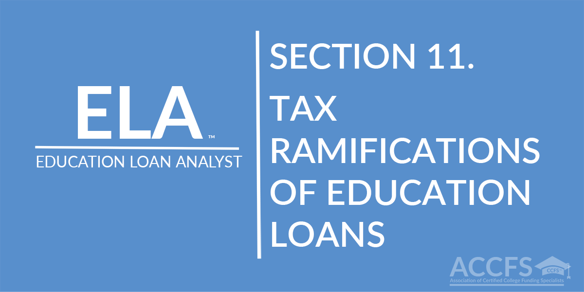 Tax Ramifications Of Education Loans