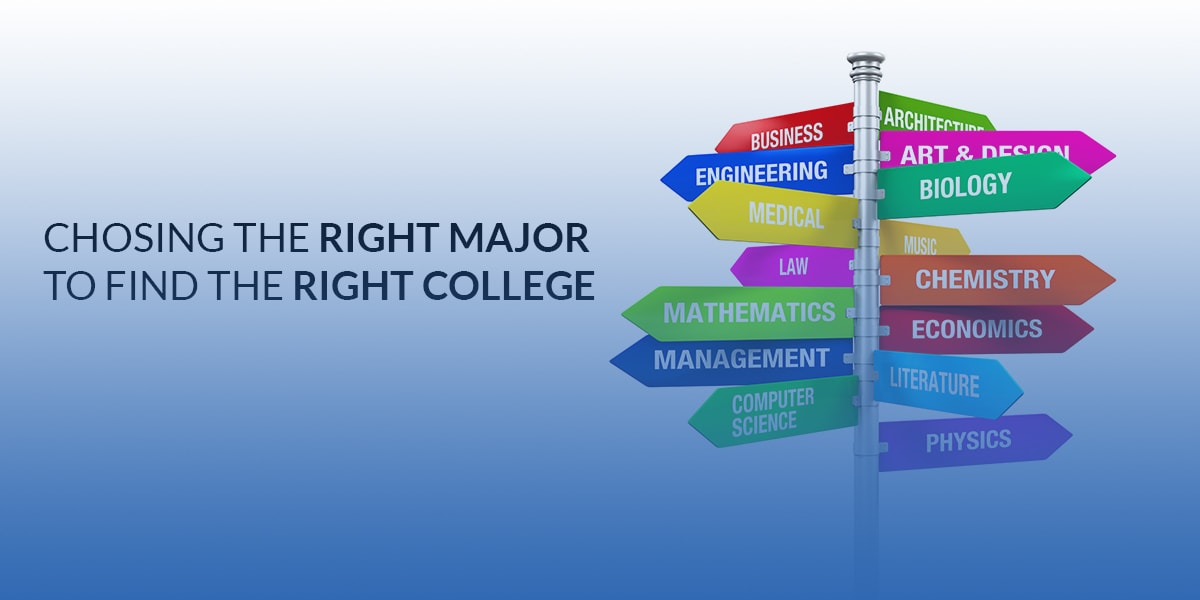 PICK THE RIGHT MAJOR FIRST TO FIND THE RIGHT COLLEGE